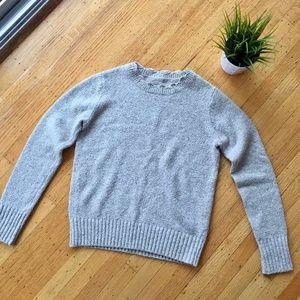 CLUB MONACO wool sweater - natural beige - S